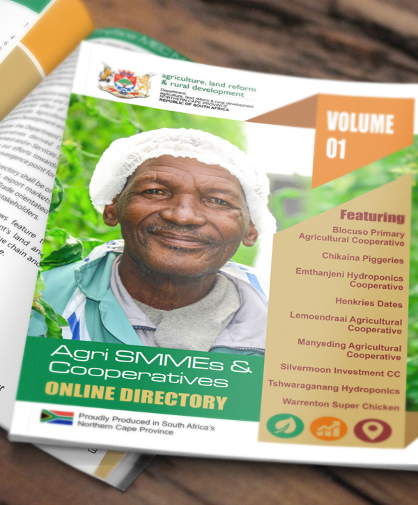 FT - PUBLICATIONS: Agri SMME Directory on www.kimberley.org.za